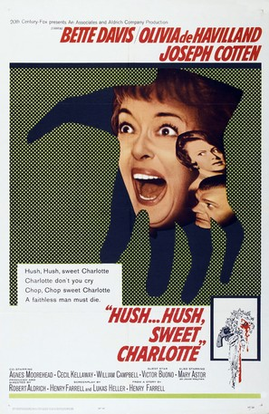 Hush... Hush, Sweet Charlotte - Movie Poster (thumbnail)