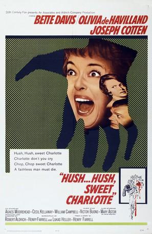 Hush... Hush, Sweet Charlotte - Movie Poster (thumbnail)