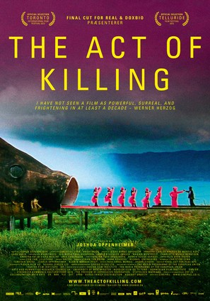 The Act of Killing - Danish Movie Poster (thumbnail)