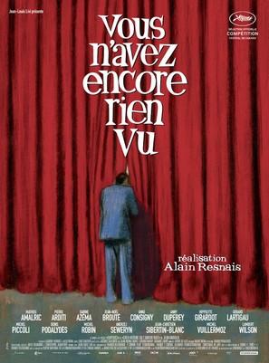 Vous n'avez encore rien vu - French Movie Poster (thumbnail)