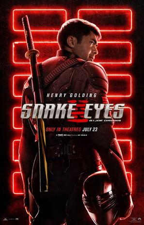 Snake Eyes: G.I. Joe Origins - Movie Poster (thumbnail)