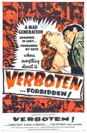 Verboten! - Movie Poster (thumbnail)