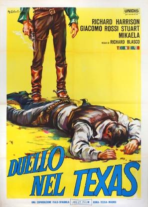 Duello nel Texas - Italian Movie Poster (thumbnail)