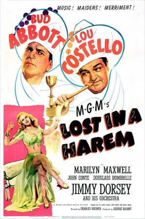 Lost in a Harem - Movie Poster (thumbnail)
