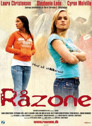 Råzone - Danish Movie Poster (thumbnail)