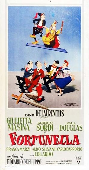 Fortunella - Italian Movie Poster (thumbnail)