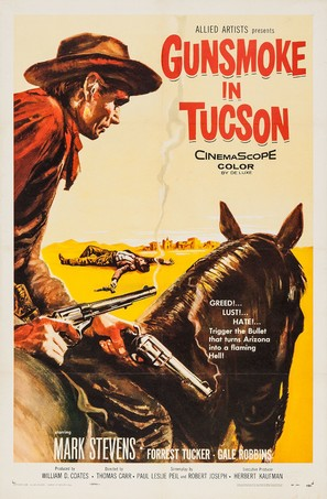 Gunsmoke in Tucson - Movie Poster (thumbnail)