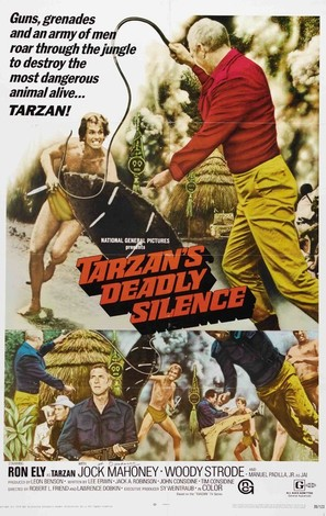 Tarzan's Deadly Silence - Movie Poster (thumbnail)