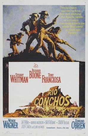 Rio Conchos - Movie Poster (thumbnail)
