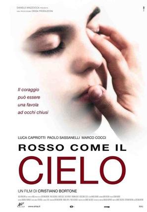 Rosso come il cielo - Italian Movie Poster (thumbnail)