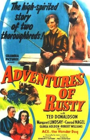 Adventures of Rusty - Movie Poster (thumbnail)
