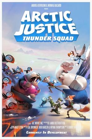 Arctic Justice - British Movie Poster (thumbnail)