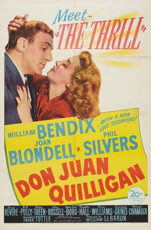 Don Juan Quilligan - Movie Poster (thumbnail)
