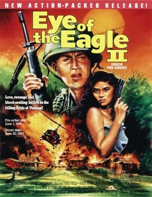 Eye of the Eagle 2: Inside the Enemy - DVD movie cover (thumbnail)