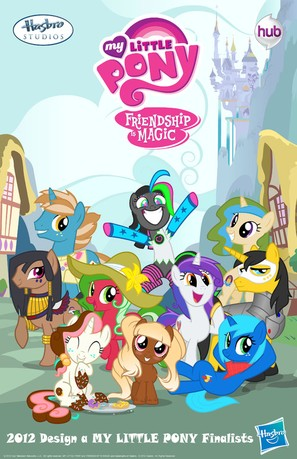 """""""My Little Pony: Friendship Is Magic"""" - Movie Poster (thumbnail)"""