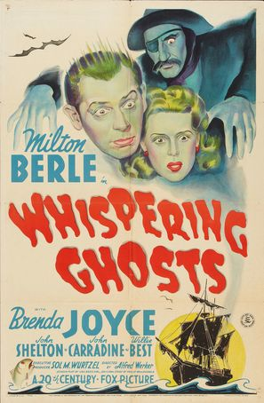 Whispering Ghosts - Movie Poster (thumbnail)