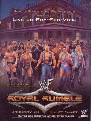 WWE Royal Rumble - Movie Poster (thumbnail)