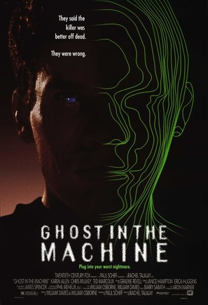Ghost in the Machine - Movie Poster (thumbnail)