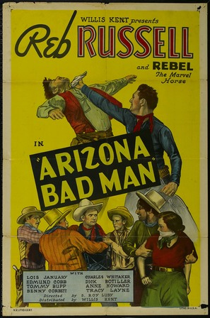 Arizona Bad Man - Movie Poster (thumbnail)