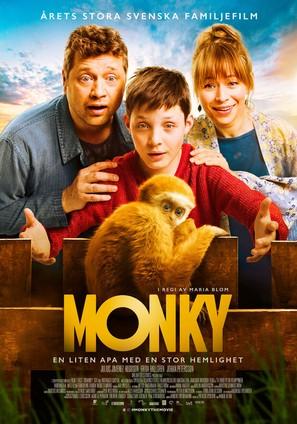 Monky - Swedish Movie Poster (thumbnail)