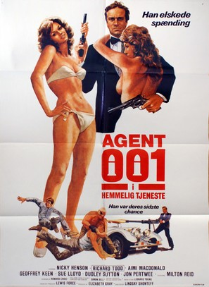 No. 1 of the Secret Service - Danish Movie Poster (thumbnail)
