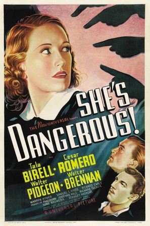 She's Dangerous - Movie Poster (thumbnail)