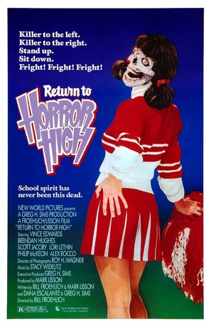 Return to Horror High - Movie Poster (thumbnail)