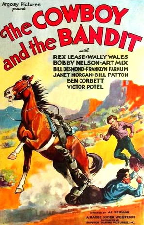 The Cowboy and the Bandit - Movie Poster (thumbnail)