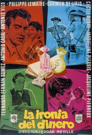 La ironía del dinero - Spanish Movie Poster (thumbnail)