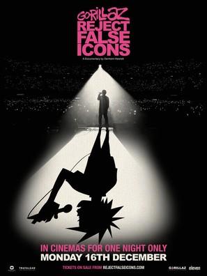 Gorillaz: Reject False Icons - British Movie Poster (thumbnail)