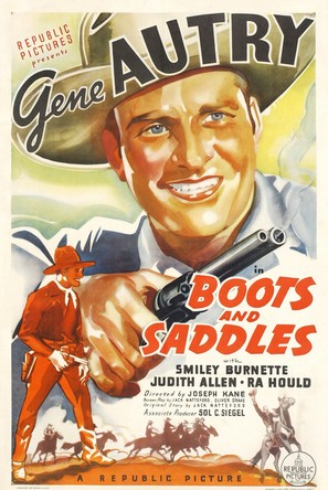 Boots and Saddles - Movie Poster (thumbnail)