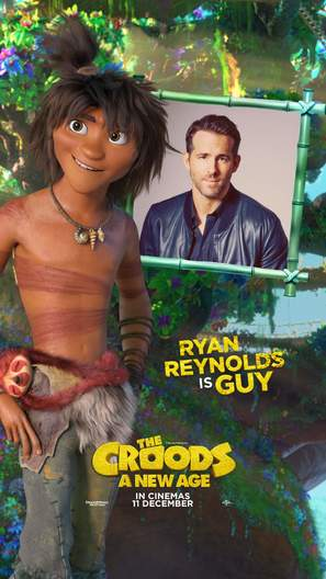 The Croods: A New Age - South African Movie Poster (thumbnail)