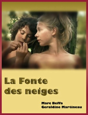 La fonte des neiges - French DVD movie cover (thumbnail)