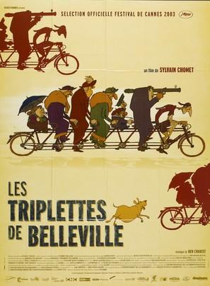 Les triplettes de Belleville - French Movie Poster (thumbnail)