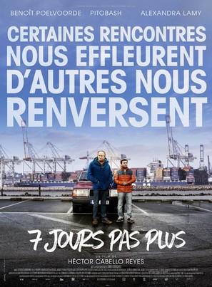 7 jours pas plus - French Movie Poster (thumbnail)