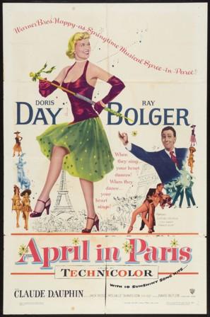 April in Paris - Movie Poster (thumbnail)