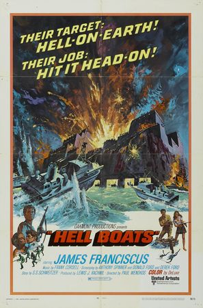 Hell Boats - Theatrical poster (thumbnail)