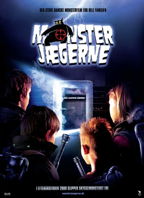 Monsterjægerne - Danish Movie Poster (thumbnail)
