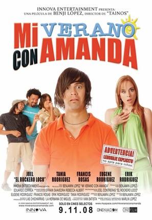 Mi verano con Amanda - Puerto Rican Movie Poster (thumbnail)