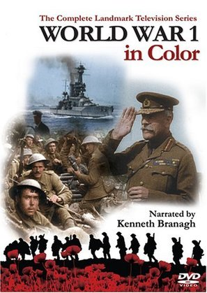 """World War 1 in Colour"" - DVD movie cover (thumbnail)"