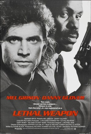 Lethal Weapon - Movie Poster (thumbnail)