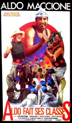 Riavanti... Marsch! - French VHS movie cover (thumbnail)