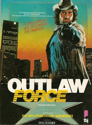 Outlaw Force - Brazilian Movie Poster (thumbnail)