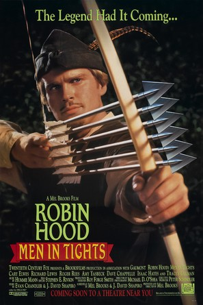 Robin Hood: Men in Tights - Advance poster (thumbnail)