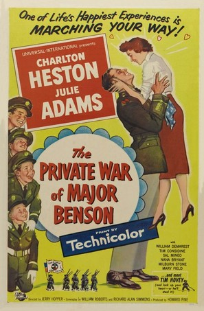 The Private War of Major Benson - Movie Poster (thumbnail)
