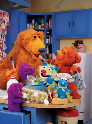 """Bear in the Big Blue House"" - poster (thumbnail)"