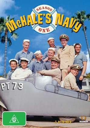 """McHale's Navy"" - Australian DVD movie cover (thumbnail)"
