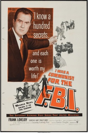 I Was a Communist for the FBI - Movie Poster (thumbnail)