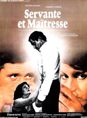 Servante et maîtresse - French Movie Poster (thumbnail)