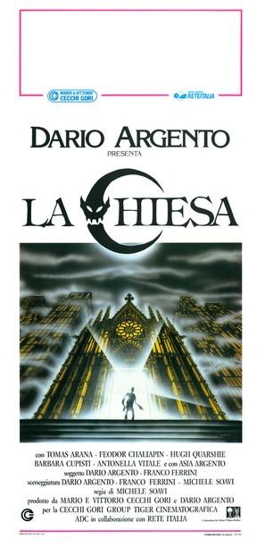 La chiesa - Italian Movie Poster (thumbnail)